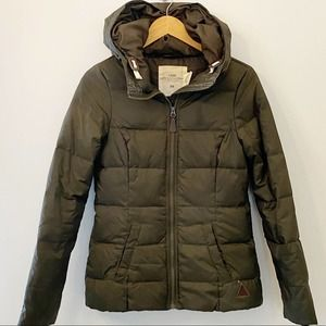 H&M Olive Green Puffer Jacket